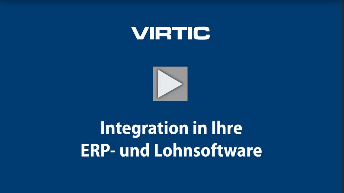 Video: Integration in ERP- und Lohnsoftware